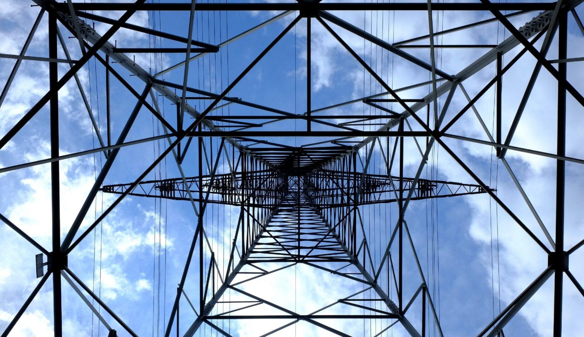 Symbolbild Enerige: Strommast